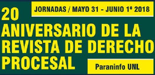 Jornadas 20 Aniversario de la Revista de Derecho Procesal