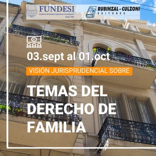 VISIÓN JURISPRUDENCIAL SOBRE TEMAS DEL DERECHO DE FAMILIA