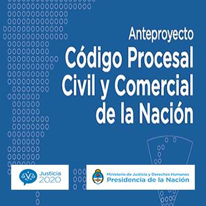 Anteproyecto Código Procesal, Civil y Comercial de la Nación