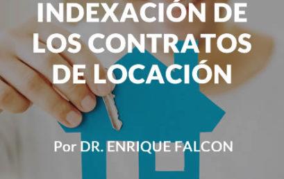 Indexación de los contratos de locación