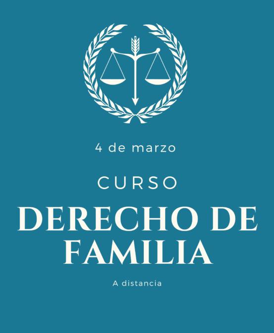 Curso de DERECHO de FAMILIA