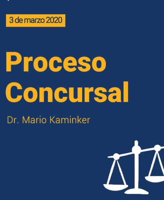 Curso PROCESO CONCURSAL