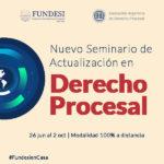 Nuevo Seminario de Actualización en  DERECHO PROCESAL 2020