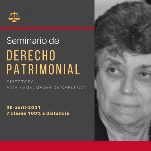Seminario de Derecho Patrimonial
